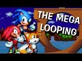 Who can pass the Mega loop? Sonic sprite
