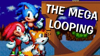 Who can pass the Mega loop? Sonic sprite animation