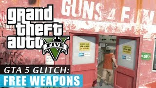 GTA 5: Free weapons GLITCH! (Tutorial) HD