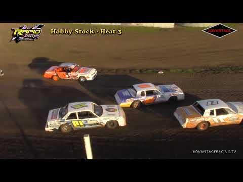 Hobby Stock Heat/B Feature - Rapid Speedway - 5/25/18