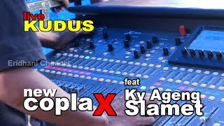PROSES CEK SOUND CUMI - CUMI AUDIO II LIVE KUDUS II - NEW COPLAX feat KY AGENG SLAMET