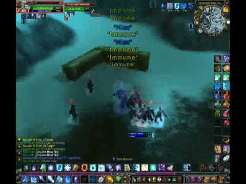 WoW Mage Aoe Grinding, 73+ mobs Northred - Dragonblight  By LukeD