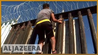 🇲🇽🇺🇸Mexico: Migrant caravan comes to a halt in Tijuana near US border | Al Jazeera English