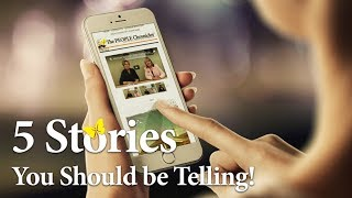 5 Stories You Should Be Telling