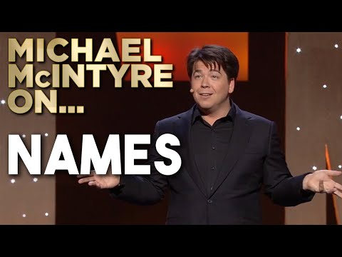 Why Do People With The Same Name Spell It Differently? | Michael McIntyre