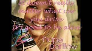 Watch Hope Partlow Who We Are video