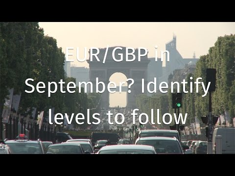 EUR/GBP in September? Identify levels to follow