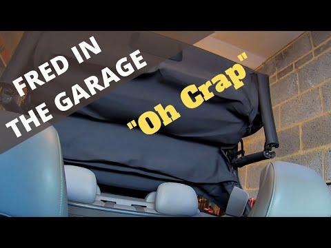 OH NO !  Volvo C70 Electric Roof Broken.