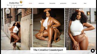 Doshie Dior 2021 Website Design