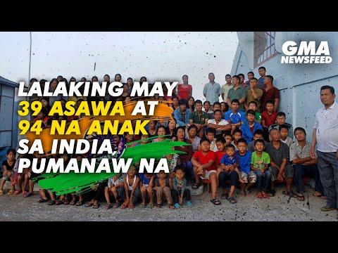 Download Lalaking may 39 asawa at 94 na anak sa India, pumanaw na | GMA News Feed