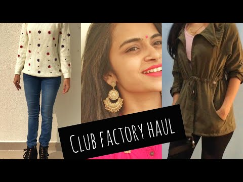 CLUB FACTORY HAUL | ONLINE SHOPPING | WHAT TO BUY ?
