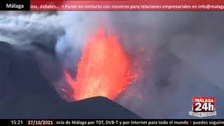 🔴Noticia - Nuevos derrumbes desatan la fuerza del volcán de La Palma
