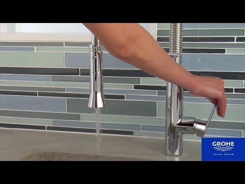 HOW TO INSTALL: Kitchen Faucet & Removal - Grohe K7 install