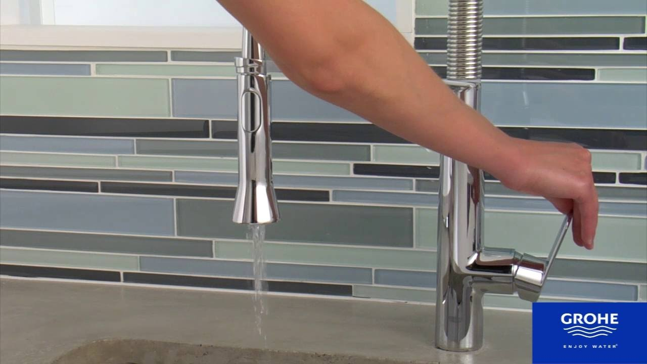 HOW TO INSTALL Kitchen Faucet Removal Grohe K7 install YouTube