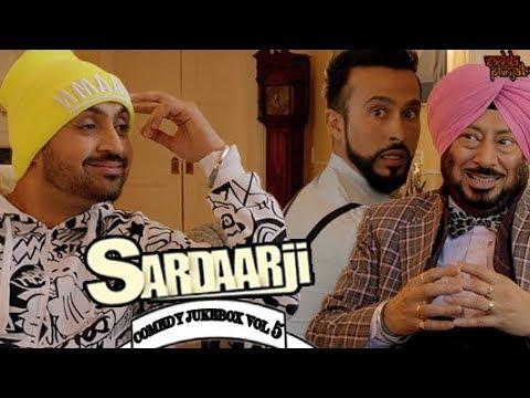 Sardaar Ji Comedy Jukebox Vol 5 | Comedy Scenes | Sardaarji | Diljit Dosanjh