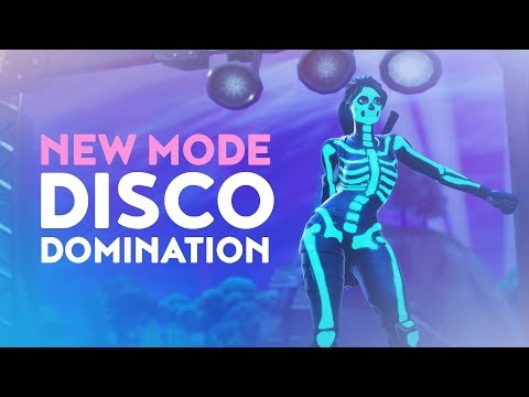 DAKOTAZ REACTING TO NEW MODE DISCO DOMINATION (Fortnite Battle Royale - Dakotaz)