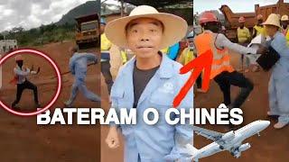#AQUECEU - Cidadão de nacionalidade chinesa envolve se numa briga feia com seus trabalhadores