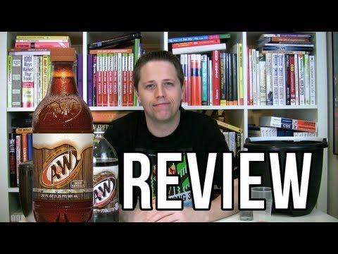 A&W Root Beer Review Soda Tasting #103