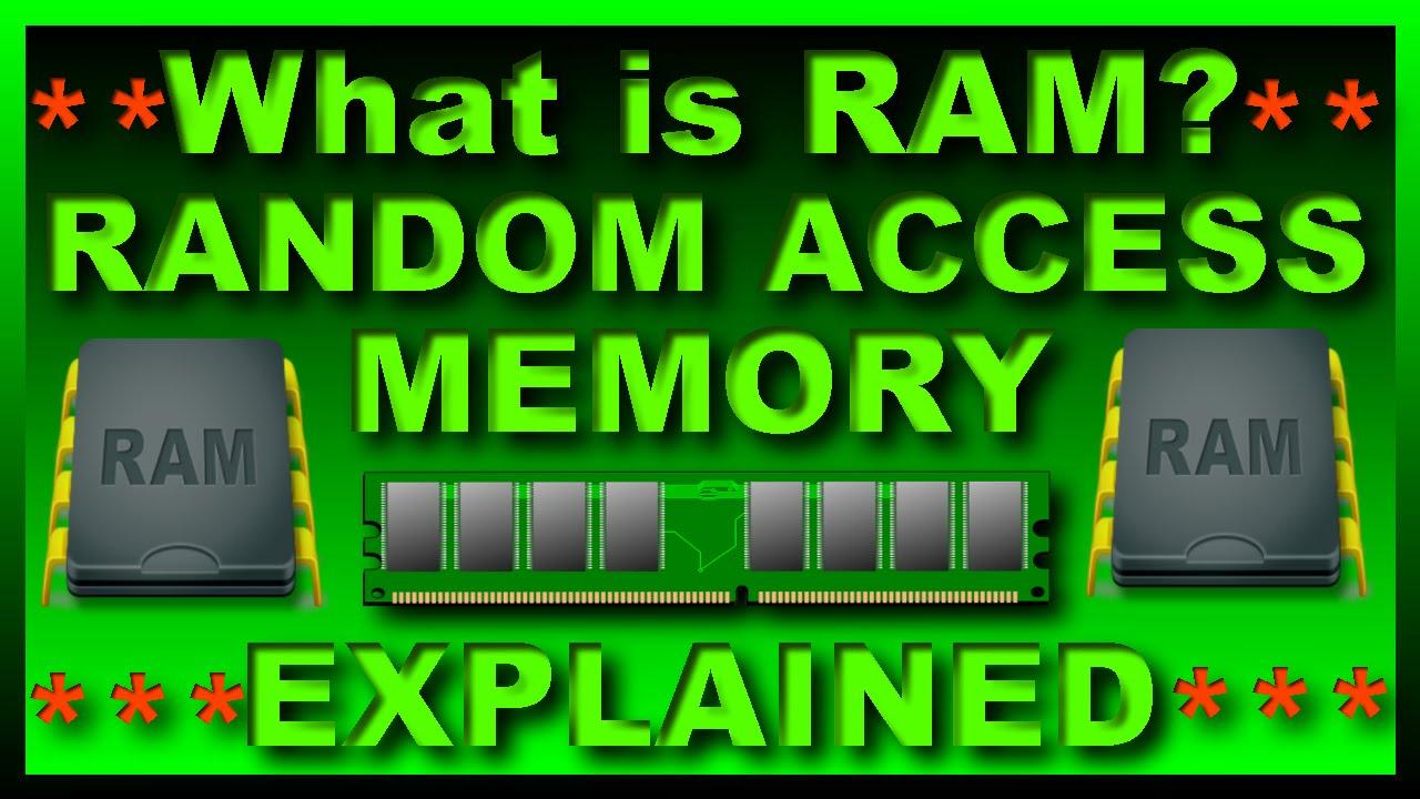 What is RAM?Random Access Memory