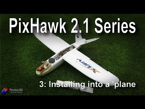 (3/9) Introduction to PixHawk 2 1: Installing the hardware into an airplane