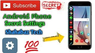 Android phone secret function and settings in hindi urdu 2020