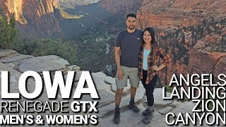 Lowa Renegade GTX Hiking Boots Review (Men's & Women's) Most Comfortable Hiking Boot