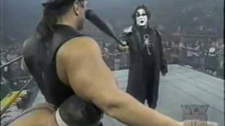WCW/nWo Monday Night Nitro Sting Confronts Rick Stenier 12/2/96
