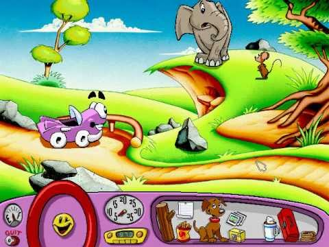 Putt-Putt Saves the Zoo (Humongous Entertainment) (1995)