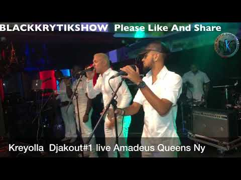 Kreyolla Live Yon Jou Bien Yon Jou Mal At Amadeus Ny BLACKKRYTIKSHOW 9082205600