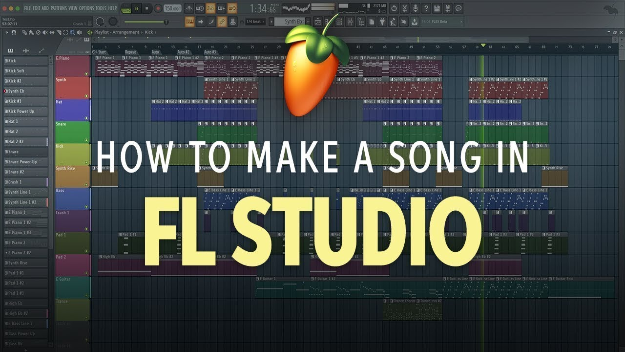How to Make a Song in FL Studio 20 | Software Lesson