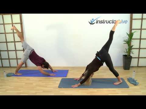 Vinyasa Flow Yoga with LJ on www.InstructorLive.com