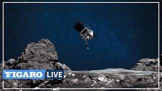 🌌Espace: les images de la sonde Osiris-Rex qui entre en contact avec l'astéroïde Bennu