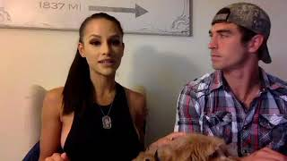 Big Brother 19 Cody and Jessica FB Live 1ST video since doing Amazing Race on Oct 31, 2017.