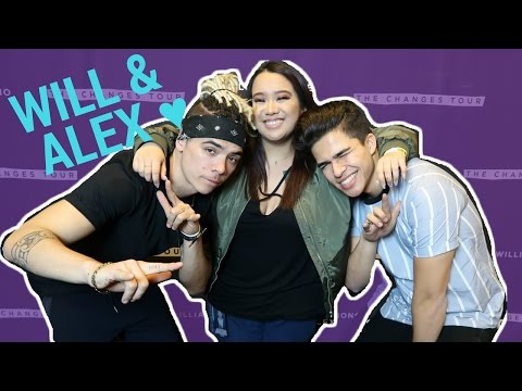 William Singe & Alex Aiono in SF: Night 2 (front row view) - March 1, 2017 - Vlog | Jill Millare