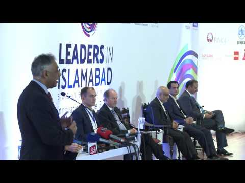 Talk by  Governor of Sindh, Mohammad Zubair @ LEADERS IN ISLAMABAD