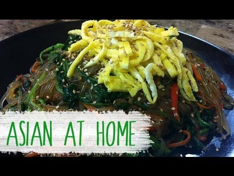 Stir Fry Recipe : Japchae Recipe (Korean Stir fry Noodles Recipe) : Asian at Home