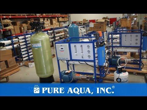 Commercial Water Desalination System UAE 7,600 GPD | www.PureAqua.com