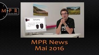 Canon innove ! Samyang aussi ! et autres News | MPR News Mai 2016
