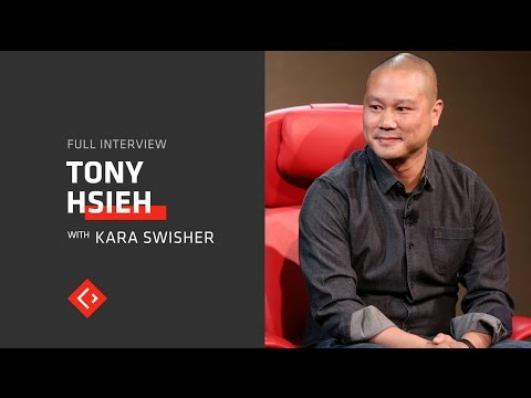 Tony Hsieh explains why he sold Zappos and what he thinks of Amazon