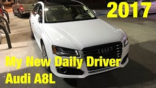 My New 2017 Audi A8L first look