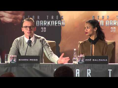 Star Trek Into Darkness | meet the press Berlin (2013)