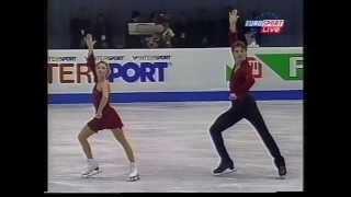 Elena Berezhnaya & Anton Sikharulidze RUS - 2001 European Championships SP