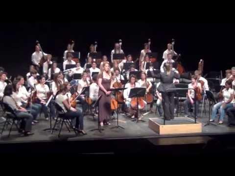 Concert de fin de stage d'orchestre et de direction d'ochestre 13 juillet 2013 (2)