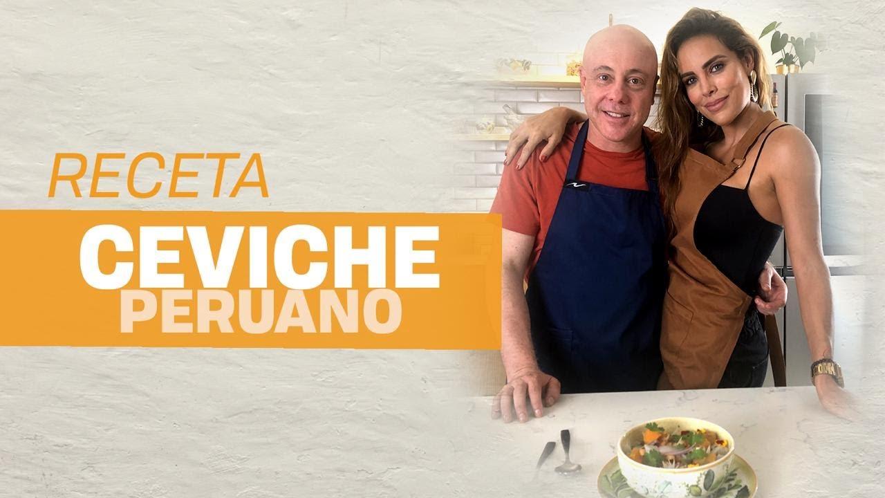 Receta de ceviche peruano l Jorge Rausch con Sara Corrales