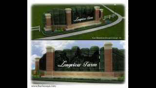 Fearless Eye, Inc. - Longview Farms Master Plan:  Entry Gate design
