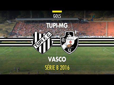 Melhores Momentos - Tupi 2 x 2 Vasco - Série B - 27/08/2016