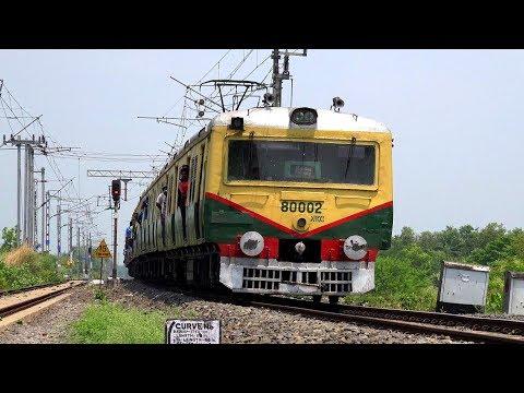 Krishnanagar Local (কৃষ্ণনগর লোকাল) Train- Eastern Railway in 4k Ultra HD
