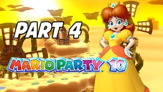 Mario Party 10 Gameplay Walkthrough Part 4 - Airship Central (Uncensored w/ Friends Wii U)