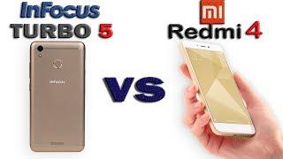 #1 Xiaomi Redmi 4 vs Infocus Turbo 5 | WHICH IS BETTER | IN DEPTH COMARISON | GEEKNOCENT