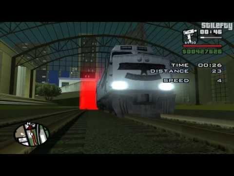 GTA San Andreas - Freight Train [2 Levels]